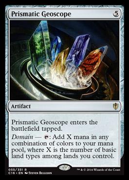 Geoscópio Prismático